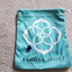 Kendra scott silver necklace charm